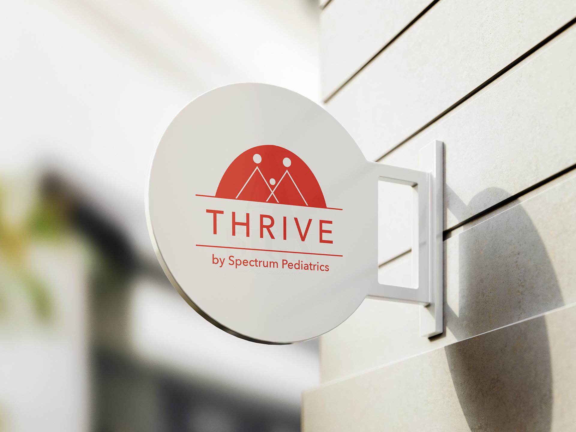 Brand Identity work for Thrive